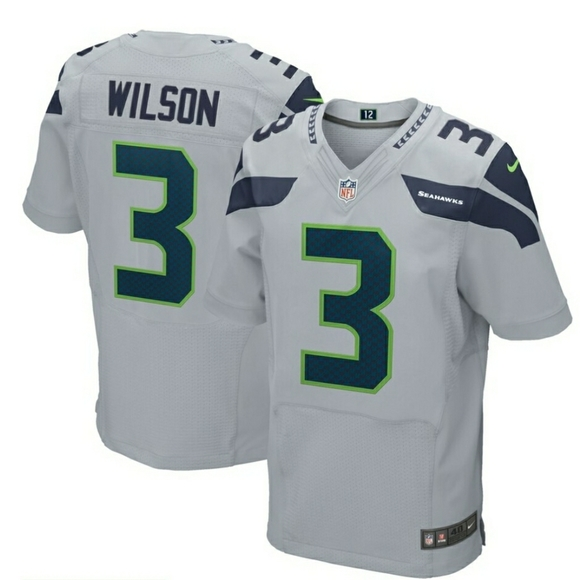 Nike Other - Authentic Russel Wilson Jersey Size L w tags